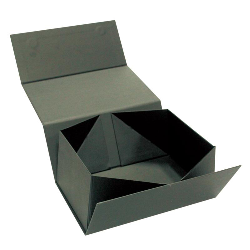 Magnetic cardboard folding gift box