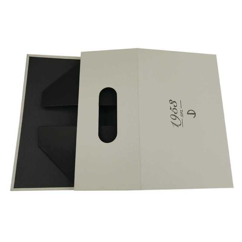 Creative die cutting perforation custom folding carton boxes