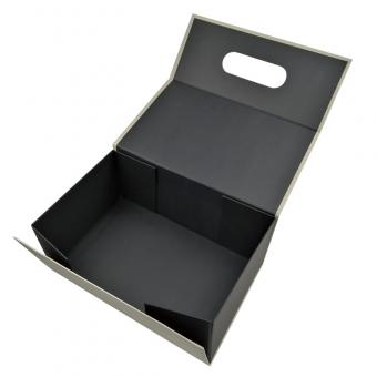 foldable packaging boxes with magnetic flap