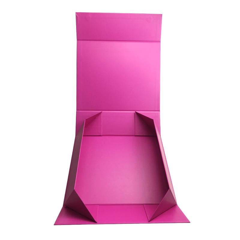 Romantic and wedding custom foldable packaging boxes