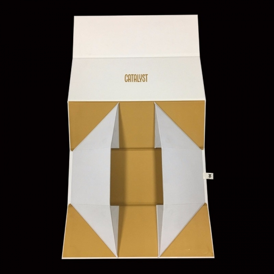 Cardboard packaging keepsake wine flat pack packing boxes