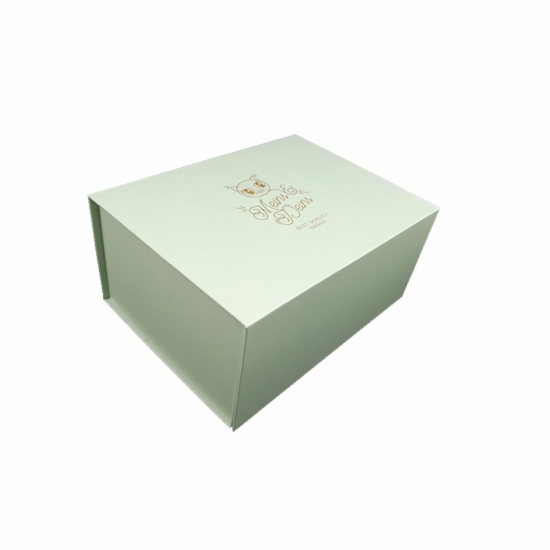 Green Color Fresh Folding Paper Box