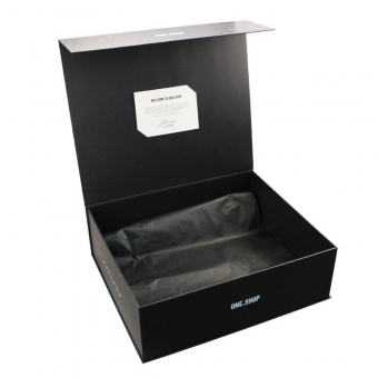 large black gift box with magnetic closure