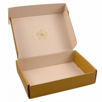 Wholesale luxury custom logo paper recycle gift mailer boxes