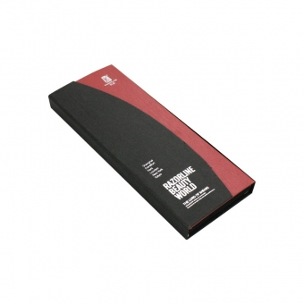 Black and red striped paper Small Shipping Bulk clamshell box