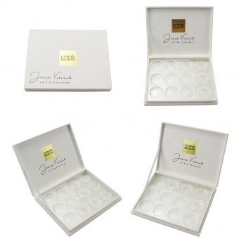 logo gold foil stamping with blister PVC tray