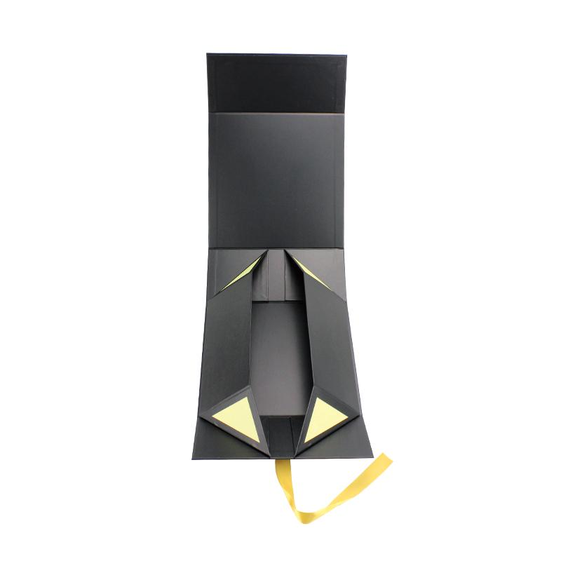 Black Box With Gold Ribbon