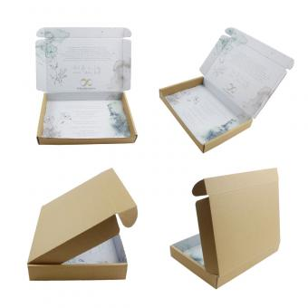 Kraft Shipping Boxes